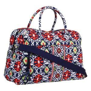 Vera Bradley Weekender Bag in Sun Valley